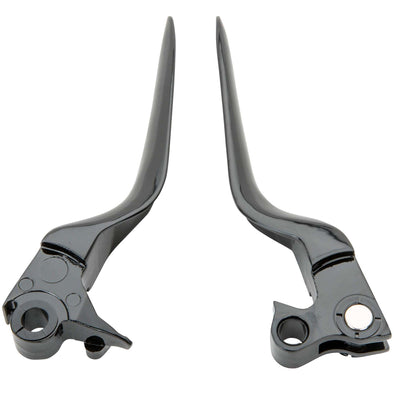 Blade Levers - Black - 1996 - 2003 Harley Davidson Sportsters and 1996 - 2017 Dyna / Softail / Touring Models