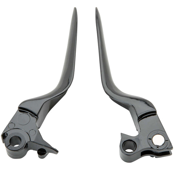 Blade Levers - Black - 1996 - 2003 Harley Davidson Sportsters and 1996 and Later Dyna / Softail / Touring Models