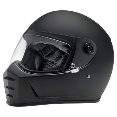 Lane Splitter DOT/ECE Approved Full Face Helmet - Flat Black