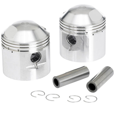Pistons for Triumph 650 c.c. Motorcycles - +0.020