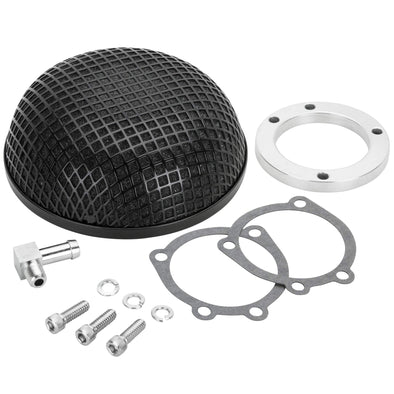 Mesh Air Cleaner - Black - Harley-Davidson CV Carb Sportster and Big Twin
