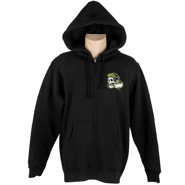 Ride Fast Take Chances Zip-up Hooded Sweatshirt
