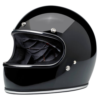 Gringo DOT/ECE Approved Full Face Helmet - Gloss Black