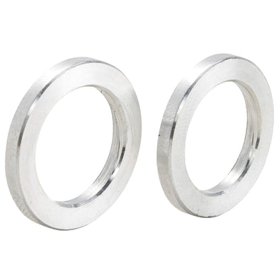 3/4 inch ID x 1/8 inch Long Aluminum Motorcycle Wheel Axle Spacers - Pair