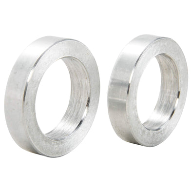 3/4 inch ID x 1/4 inch Long Aluminum Motorcycle Wheel Axle Spacers - Pair