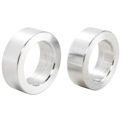 3/4 inch ID x 3/8 inch Long Aluminum Motorcycle Wheel Axle Spacers - Pair