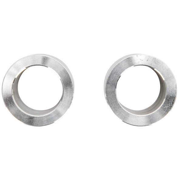 3/4 inch ID x 1 inch Long Aluminum Motorcycle Wheel Axle Spacers - Pair