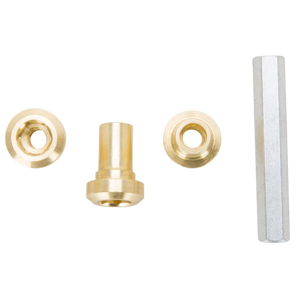 Brass Allen Clutch Adjusting Nuts - Set of 3 & Tool - for Unit Triumph and BSA Motorcycles