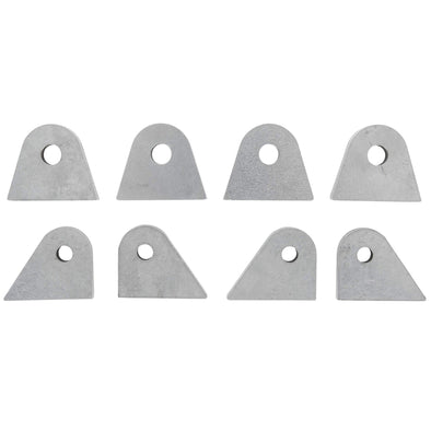 8 piece Tab Assortment - 1/4 inch Thick