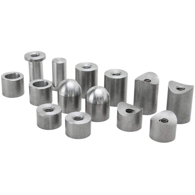 14 piece Steel Bung Assortment - 5/16-18 thread