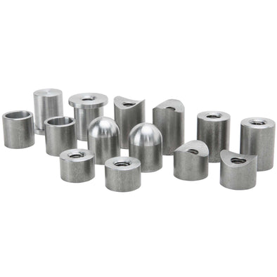 14 piece Steel Bung Assortment - 3/8-16 thread