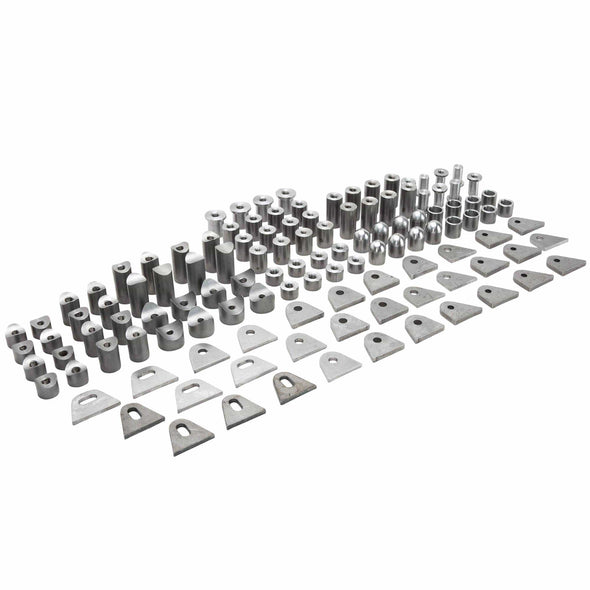 120 piece Pro-Builder's Steel Bung and Tab Assortment