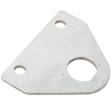 Crank Start Key Tab - Coil Mount - Tumbled Stainless