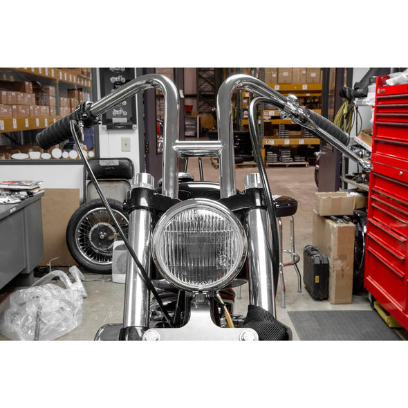 Rabbit Ears Handlebars - 1 inch - Chrome