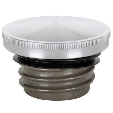 Domed Screw-In Gas Cap for Harley-Davidson 1982-1995 / Modern Triumph Bonneville T100 / T120, Scrambler, Thruxton - Aluminum