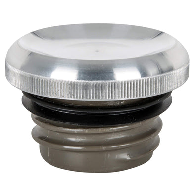 Dished Screw-In Gas Cap for Harley-Davidson 1996 & later - Aluminum