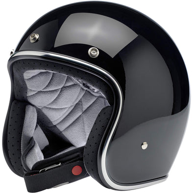Bonanza Helmet DOT Approved Helmet - Gloss Black
