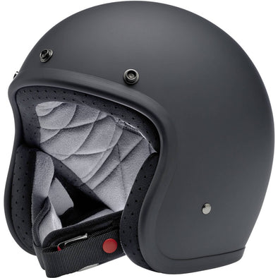 Bonanza Helmet DOT Approved Helmet - Flat Black