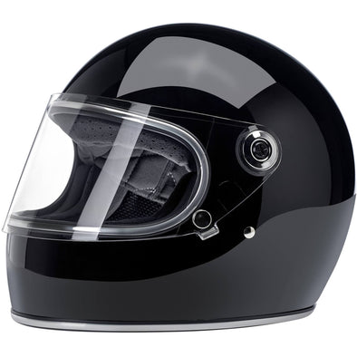 Gringo S DOT/ECE Approved Full Face Helmet - Gloss Black