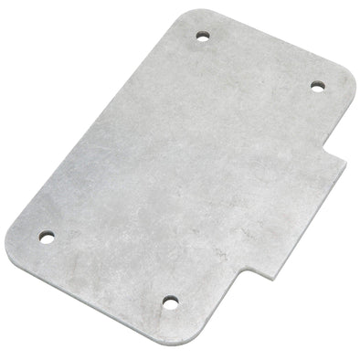 Weld-On Vertical License Plate Bracket