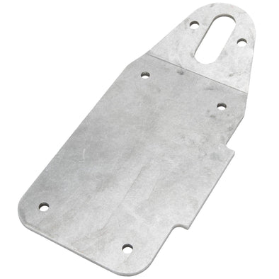 Weld-On Vertical License Plate Bracket for Model A Style Light