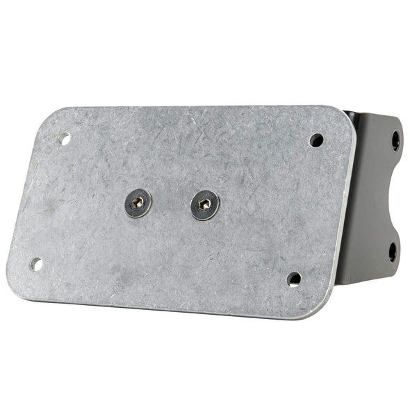 Open Belt Drive Primary License Plate Mount for Harley - Vertical or Horizontal