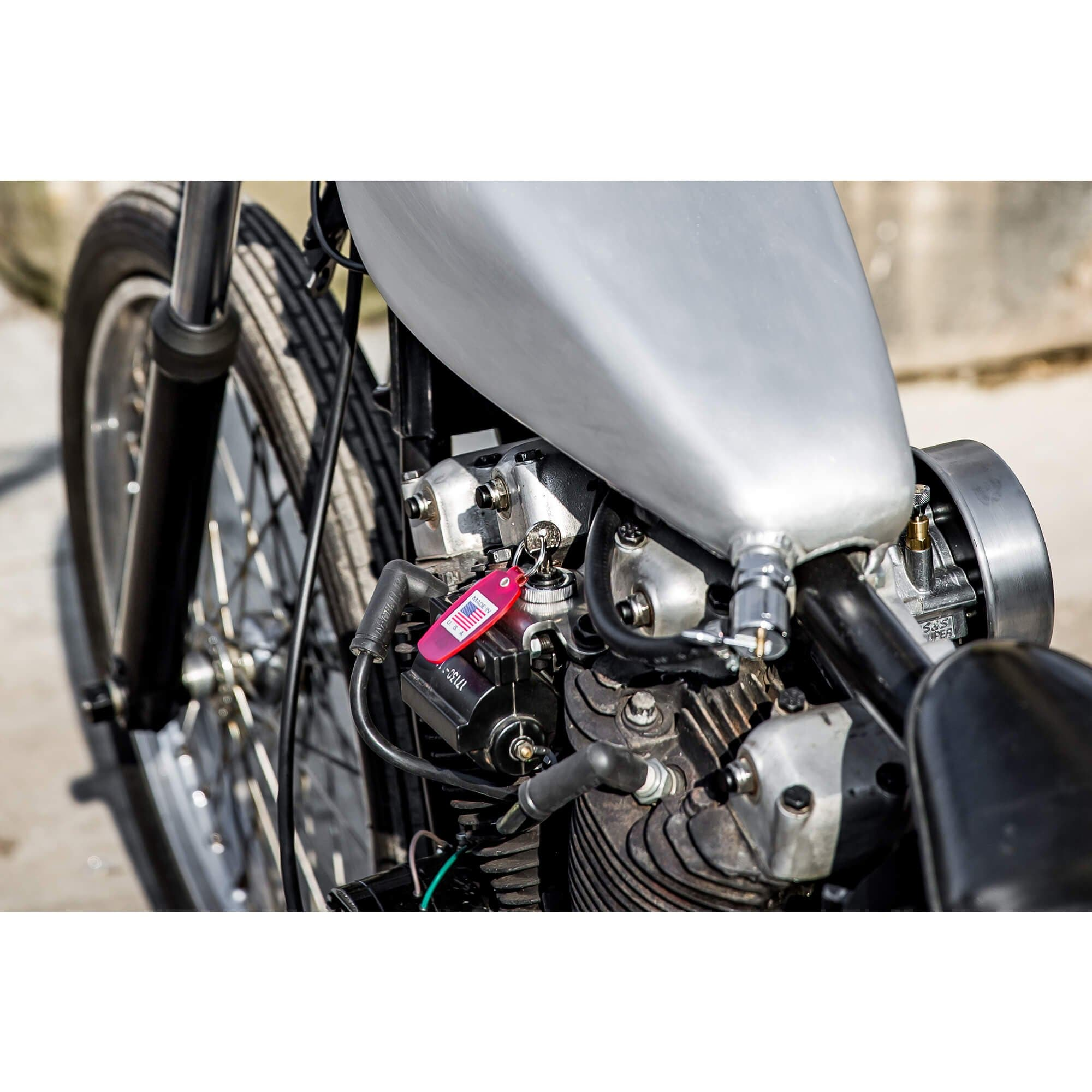 Gasbox Top Motor Mount 1957 1985 Ironhead Sportster Xl With Coil And Crank Key Start Mount Lowbrow Customs