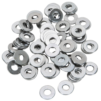 Colony #12-F-100 Chrome Plated Flatwashers  #12 - Bag of 100