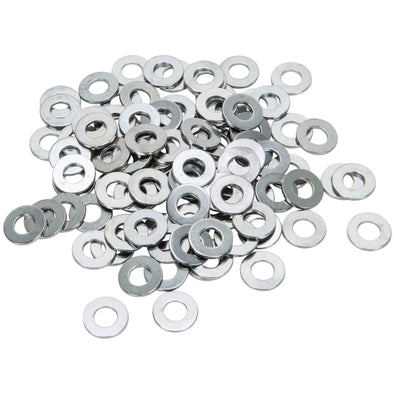 Colony #5/16-F-100 Chrome Plated Flatwashers 5/16 inch - Bag of 100