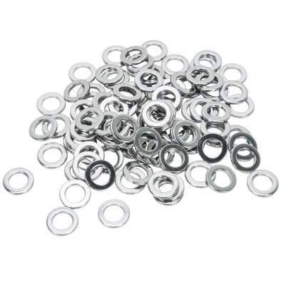 Colony #7/16-F-100 Chrome Plated Flatwashers 7/16 inch - Bag of 100