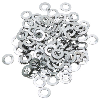 Colony #1/4-L-100 Chrome Plated Lockwashers 1/4 inch - Bag of 100