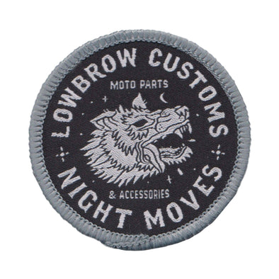 Night Moves Woven Patch