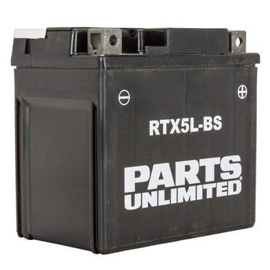 AGM RTX5L-BS Maintenance Free Battery - For Kick Start Motorcycles