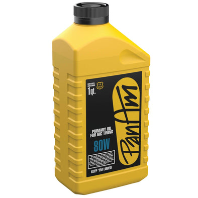 SAE 80W Big Twin Primary Oil - 1 quart