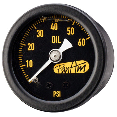Oil Pressure Gauge 0-60 psi - Black