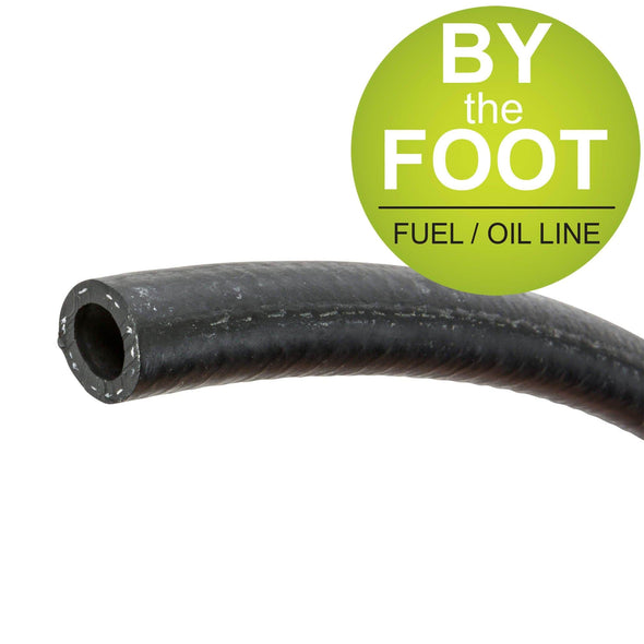 3/8 inch Black Fuel / Oil Line - By The Foot