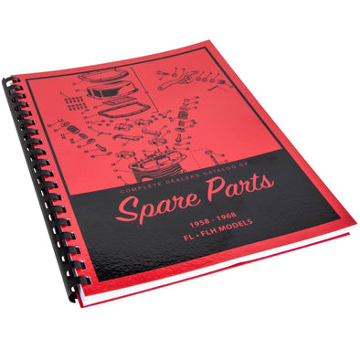 Spare Parts Book for 1958-1968 Harley-Davidson Panhead Shovelhead