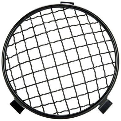 Baja Headlight Mesh Grill Stoneguard - Black