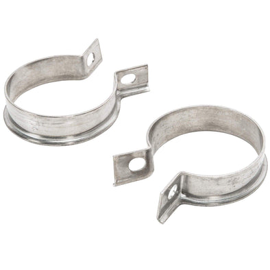 Exhaust Port Clamps 1952-1971 Harley-Davidson K and Sportster XL Models - Stainless Steel OEM # 65519-52