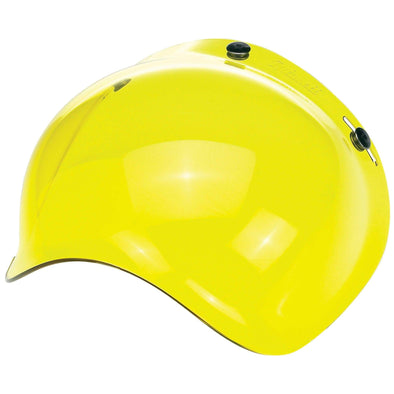Anti-Fog Bubble Shield - Yellow