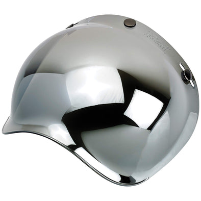 Anti-Fog Bubble Shield - Chrome Mirror