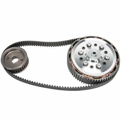 Belt Drive and Clutch for Norton Dominator 88 99 650ss and Atlas - Alternator models 1958 & later
