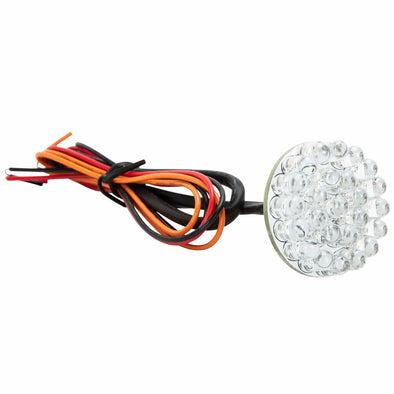 1.25 Round Super Bright LED Cluster - Red