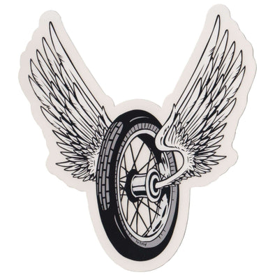 Winged Wheel Sticker - Large