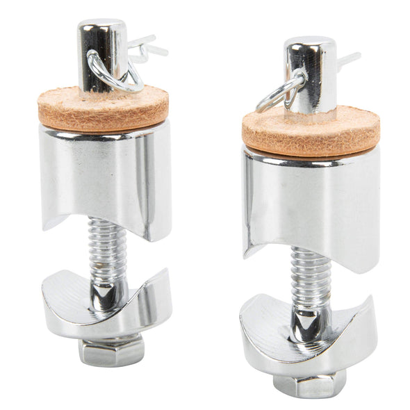 Solo Seat Bolt-On Spring Mounts - Chrome