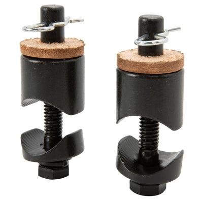 Solo Seat Bolt-On Spring Mounts - Black