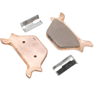 OEM #44209-87 44213-87 Sintered Metal Rear Disc Brake Pads for 1987 - 1999 Harley-Davidson Sportster Models