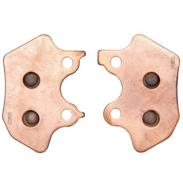 OEM #44082-00 Sintered Metal Disc Front or Rear Brake Pads for 2000 - 2003 Harley-Davidson Sportster Models