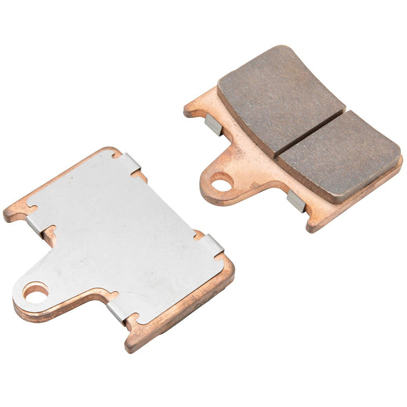 Sintered Metal Disc Brake Pads for Harley-Davidson Sportster Models - 2004 & Up Rear - OEM #41300053