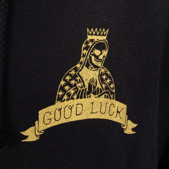 Good Luck Zip-up Hooded Sweatshirt